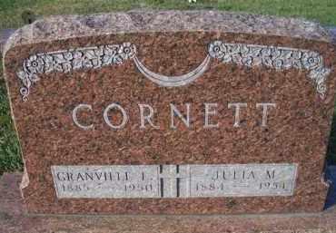 CORNETT, GRANDVILLE L - Madison County, Nebraska | GRANDVILLE L CORNETT - Nebraska Gravestone Photos