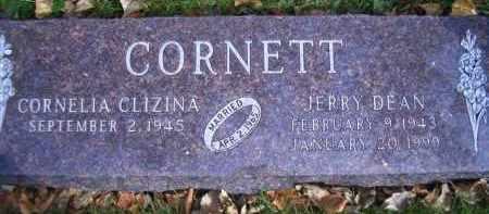 CORNETT, JERRY DEAN - Madison County, Nebraska   JERRY DEAN CORNETT - Nebraska Gravestone Photos