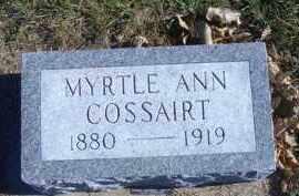 COSSAIRT, MYRTLE ANN - Madison County, Nebraska | MYRTLE ANN COSSAIRT - Nebraska Gravestone Photos
