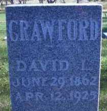 CRAWFORD, DAVID L - Madison County, Nebraska | DAVID L CRAWFORD - Nebraska Gravestone Photos