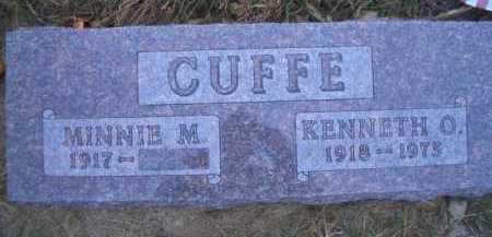 CUFFE, MINNIE M - Madison County, Nebraska | MINNIE M CUFFE - Nebraska Gravestone Photos
