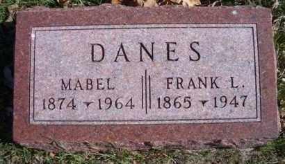 DANES, FRANK L - Madison County, Nebraska   FRANK L DANES - Nebraska Gravestone Photos