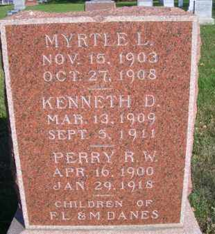DANES, KENNETH D - Madison County, Nebraska | KENNETH D DANES - Nebraska Gravestone Photos