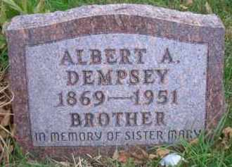 DEMPSEY, ALBERT A - Madison County, Nebraska | ALBERT A DEMPSEY - Nebraska Gravestone Photos