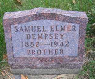 DEMPSEY, SAMUEL ELMER - Madison County, Nebraska | SAMUEL ELMER DEMPSEY - Nebraska Gravestone Photos