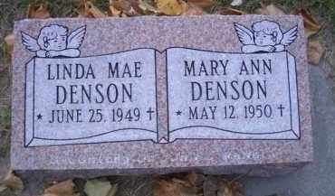 DENSON, MARY ANN - Madison County, Nebraska   MARY ANN DENSON - Nebraska Gravestone Photos