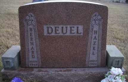 DEUEL, HAZEL - Madison County, Nebraska | HAZEL DEUEL - Nebraska Gravestone Photos