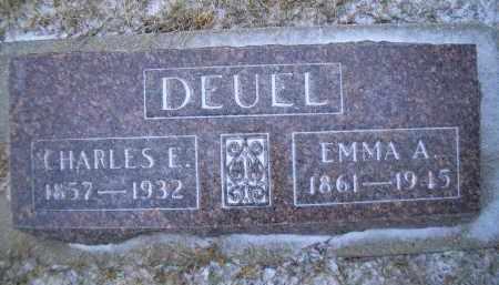DEUEL, EMMA A. - Madison County, Nebraska   EMMA A. DEUEL - Nebraska Gravestone Photos
