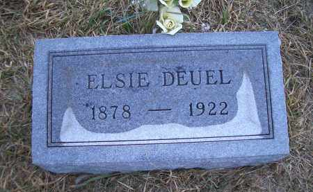 DEUEL, ELSIE - Madison County, Nebraska | ELSIE DEUEL - Nebraska Gravestone Photos
