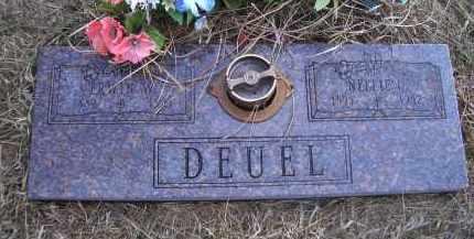 DEUEL, NELLIE - Madison County, Nebraska | NELLIE DEUEL - Nebraska Gravestone Photos