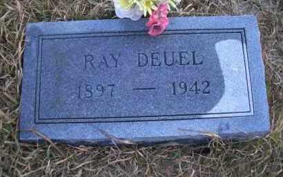 DEUEL, RAY - Madison County, Nebraska   RAY DEUEL - Nebraska Gravestone Photos