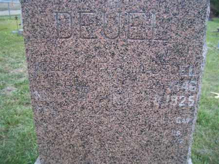 DEUEL, SILAS W - Madison County, Nebraska | SILAS W DEUEL - Nebraska Gravestone Photos