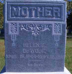 DEWOLF, HELEN E - Madison County, Nebraska | HELEN E DEWOLF - Nebraska Gravestone Photos