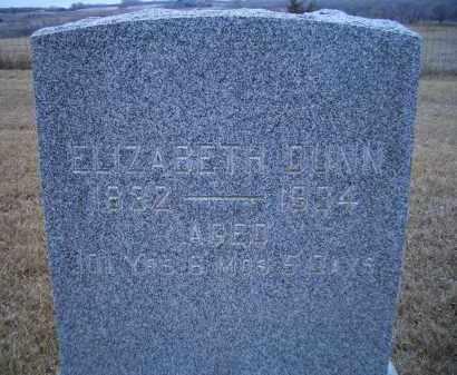 DUNN, ELIZABETH - Madison County, Nebraska | ELIZABETH DUNN - Nebraska Gravestone Photos