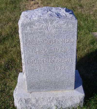ECKHARDT, LOUISE - Madison County, Nebraska | LOUISE ECKHARDT - Nebraska Gravestone Photos