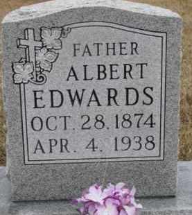 EDWARDS, ALBERT - Madison County, Nebraska   ALBERT EDWARDS - Nebraska Gravestone Photos
