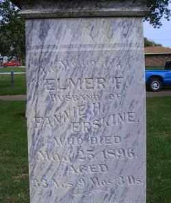 ERSKINE, ELMER F - Madison County, Nebraska | ELMER F ERSKINE - Nebraska Gravestone Photos