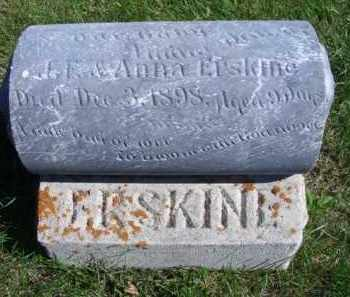 ERSKINE, INFANT DAUGHTER - Madison County, Nebraska | INFANT DAUGHTER ERSKINE - Nebraska Gravestone Photos