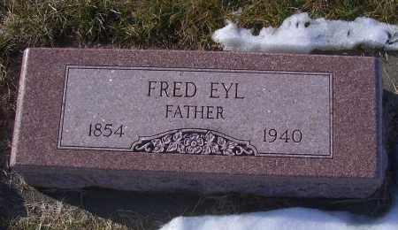 EYL, FRED - Madison County, Nebraska | FRED EYL - Nebraska Gravestone Photos