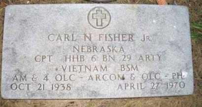 FISHER, CARL N - Madison County, Nebraska | CARL N FISHER - Nebraska Gravestone Photos