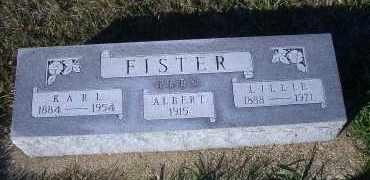 FISTER, KARL - Madison County, Nebraska | KARL FISTER - Nebraska Gravestone Photos