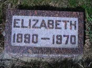 FLOOD, ELIZABETH - Madison County, Nebraska | ELIZABETH FLOOD - Nebraska Gravestone Photos