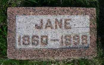 WADE FLOOD, JANE - Madison County, Nebraska | JANE WADE FLOOD - Nebraska Gravestone Photos