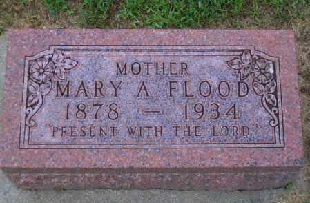 FLOOD, MARY A. - Madison County, Nebraska | MARY A. FLOOD - Nebraska Gravestone Photos