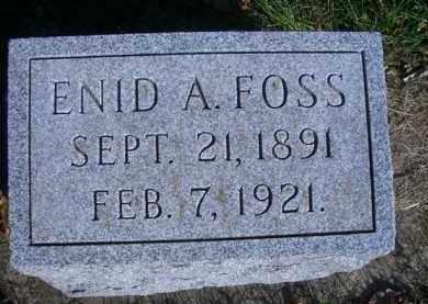 SUTHERLAND FOSS, ENID A - Madison County, Nebraska | ENID A SUTHERLAND FOSS - Nebraska Gravestone Photos