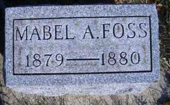 FOSS, MABEL A - Madison County, Nebraska | MABEL A FOSS - Nebraska Gravestone Photos