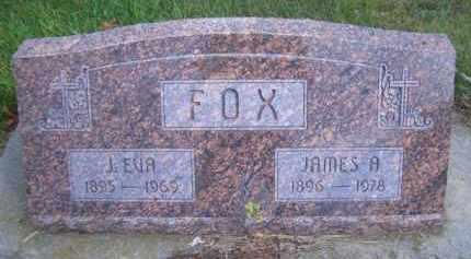 FOX, J EVA - Madison County, Nebraska | J EVA FOX - Nebraska Gravestone Photos