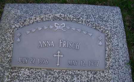 FRISCH, ANNA E. - Madison County, Nebraska | ANNA E. FRISCH - Nebraska Gravestone Photos