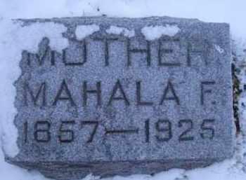 FUNK, MAHALA F - Madison County, Nebraska | MAHALA F FUNK - Nebraska Gravestone Photos