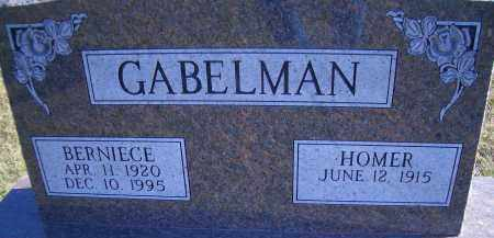GABELMAN, BERNIECE - Madison County, Nebraska | BERNIECE GABELMAN - Nebraska Gravestone Photos