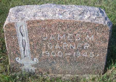 GARNER, JAMES M - Madison County, Nebraska   JAMES M GARNER - Nebraska Gravestone Photos