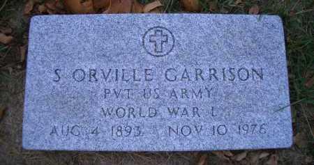 GARRISON, S ORVILLE - Madison County, Nebraska   S ORVILLE GARRISON - Nebraska Gravestone Photos