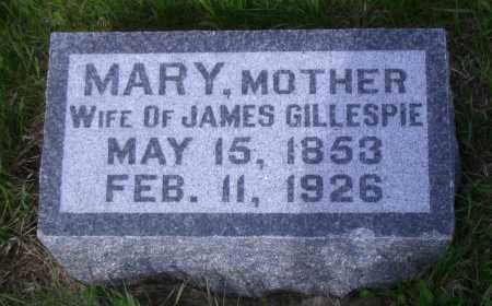 MALONEY GILLESPIE, MARY - Madison County, Nebraska | MARY MALONEY GILLESPIE - Nebraska Gravestone Photos