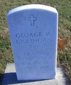 GRASHORN, GEORGE W - Madison County, Nebraska | GEORGE W GRASHORN - Nebraska Gravestone Photos