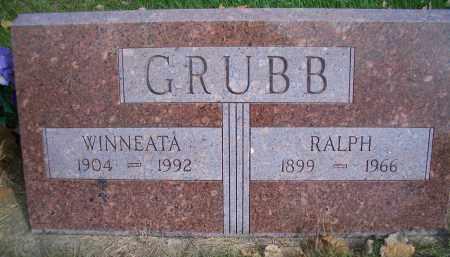 GRUBB, RALPH - Madison County, Nebraska   RALPH GRUBB - Nebraska Gravestone Photos