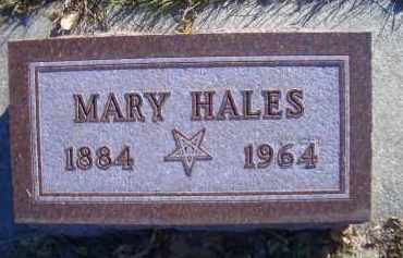 HALES, MARY - Madison County, Nebraska | MARY HALES - Nebraska Gravestone Photos