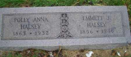 HALSEY, POLLY ANNA - Madison County, Nebraska | POLLY ANNA HALSEY - Nebraska Gravestone Photos
