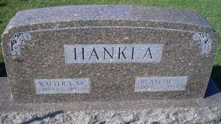 HANKLA, BLANCH A - Madison County, Nebraska | BLANCH A HANKLA - Nebraska Gravestone Photos