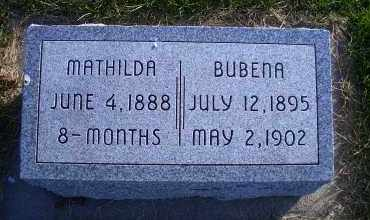 HANS, MATHILDA - Madison County, Nebraska | MATHILDA HANS - Nebraska Gravestone Photos