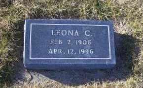 HANSEN, LEONA C. - Madison County, Nebraska | LEONA C. HANSEN - Nebraska Gravestone Photos
