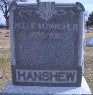 HANSHEW, NELLIE - Madison County, Nebraska | NELLIE HANSHEW - Nebraska Gravestone Photos