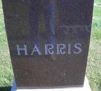 HARRIS, FAMILY HEADSTONE - Madison County, Nebraska | FAMILY HEADSTONE HARRIS - Nebraska Gravestone Photos
