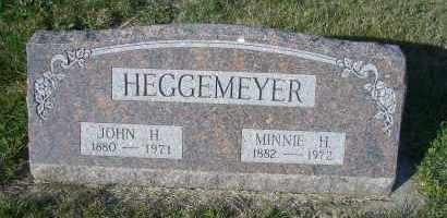 HEGGEMEYER, MINNIE H. - Madison County, Nebraska   MINNIE H. HEGGEMEYER - Nebraska Gravestone Photos