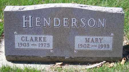 HENDERSON, MARY - Madison County, Nebraska | MARY HENDERSON - Nebraska Gravestone Photos