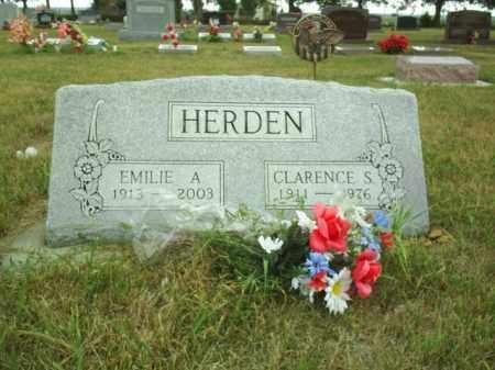 HERDEN, CLARENCE - Madison County, Nebraska | CLARENCE HERDEN - Nebraska Gravestone Photos