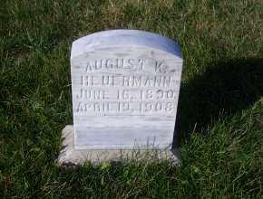 HEUERMANN, AUGUST K. - Madison County, Nebraska | AUGUST K. HEUERMANN - Nebraska Gravestone Photos